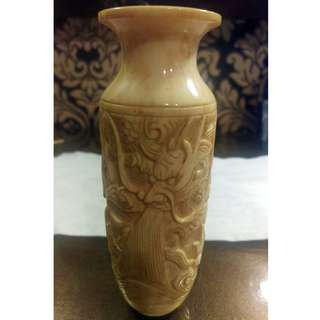 70年代象牙花瓶