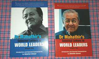 Dr Mahathir's Selected Letters to World Leaders 1 & 2
