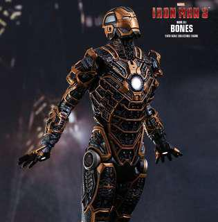 Hot Toys Ironman 3 Bones
