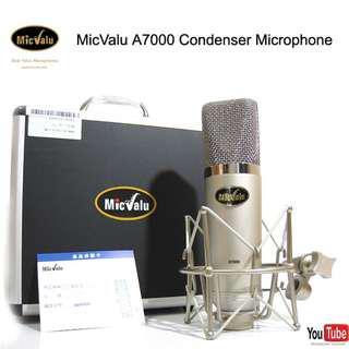 #免運麥克風 MicValu麥克樂 A7000電容式麥克風
