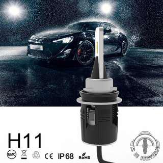 Work light Bullet B6 LED Headlight H1 H4 H3H8 H9 H11 9005 9006 9012 48W 7200LM CSP Y11 Chips White 6000K Upgraded HID Bulbs Lamp