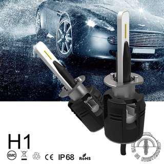 🚚 2018 New 5 side light 6000K 7200lm H4 H7 Led Car Headlight h8 h9 h11 h1 h3 csp chips light 9004 9005 9006 9007 auto bulbs