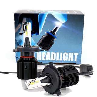 🚚 H4 LED H7 H11 H8 HB4 H1 H3 HB3 Auto Car Headlight Bulbs 72W 8000LM Car Styling 6500K 8000K led automotivo