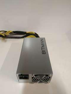 BNIB APW3++ PSU for BITMAIN ASIC Miners