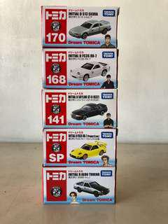 Dream Tomica Initial D Set