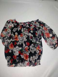 Zara woman L blouse