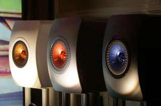 KEF LS50W Wireless Bookshelf Speakers