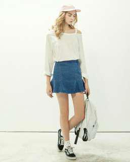 🚚 Lovee全新漂亮顯瘦牛仔裙