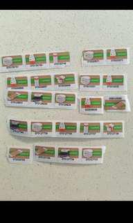 惠康印花wellcome stamps