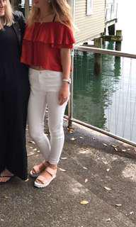 White Jeans - Size 6