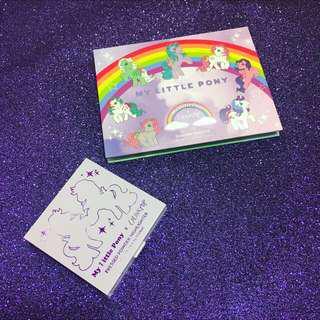 (保留)Colourpop My Little Pony 系列眼影盤+打亮組