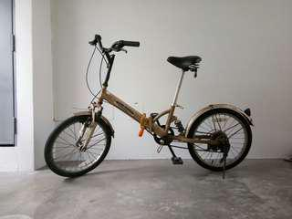 "Japan foldable bicycle 20"" 6 speed"