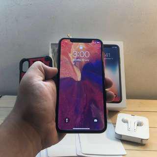 Iphone X 256gb MYSET dan bukan Telco Set