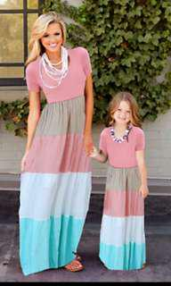 Mother and Daughter Matching Dress / Outfit