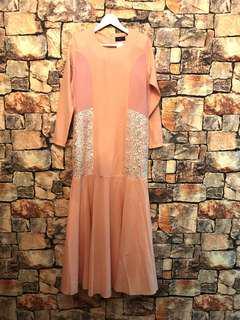 NWT Long Lace Dress #letgo80