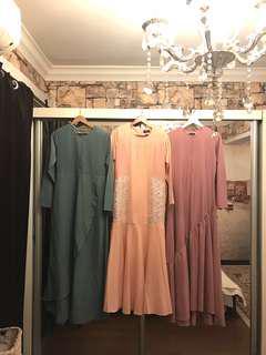 Gorgeous Dress/Jubah M size