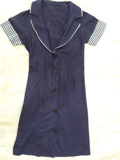 Dress purple cotton preloved