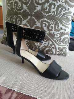 Enzo Angiolini low heel sandals. Never worn. Leather. Size 7.5