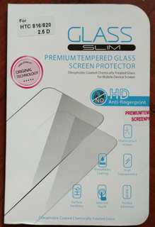 HTC 816/820  鋼化膜 screen protector