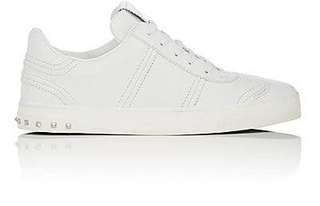 Valentino White Leather flycrew sneakers