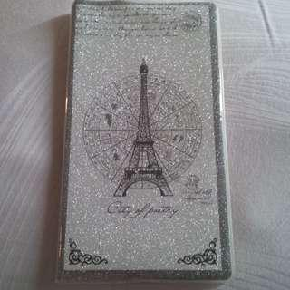 Buku Notes Paris Silver Cantik