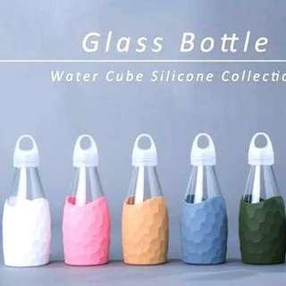 Miniso Glass Water Bottle 250 ml