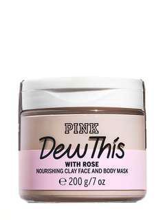 🚚 Victoria's Secret Pink 維多利亞的秘密 玫瑰保濕 臉&身體通用泥膜