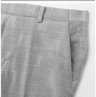 Uniqlo plaid smart style pants
