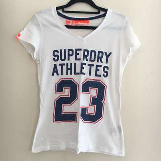 Superdry Women's V-Neck Graphic T-Shirt