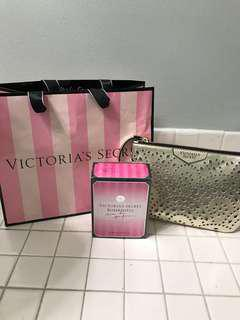 BRAND NEW Victoria Secret Bombshell Perfume and Clutch