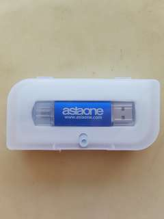 Brand New 8 GB USB. AsiaOne USB 2-Type Connector Changer Adapter Coupler (Type A & Micro). Free Normal Postage.