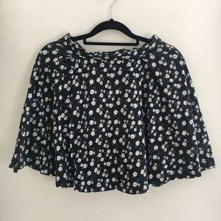 Miss Shop Cute Daisy High Waist Circle Skirt