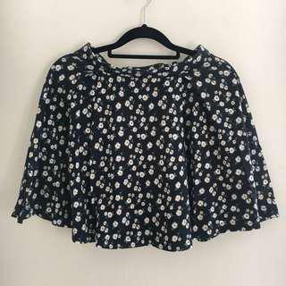 Miss Shop Cute Daisy High Waist Circle Skirt