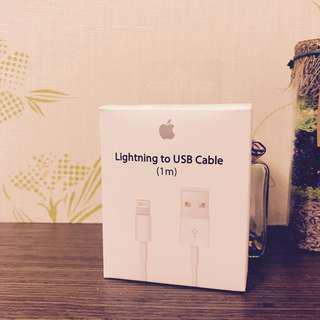 🚚 Apple iPhone X 8 7 6S 6 5S 原廠傳輸線Lightning iPad公司貨 原廠盒裝