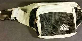 Adidas Jogging Waist Bum Bag 4 Front Back Pockets Great Condition
