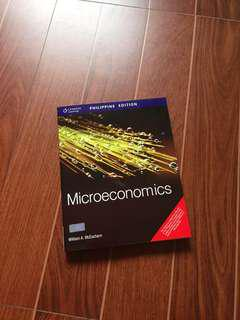 Microeconomics by William Mceachern