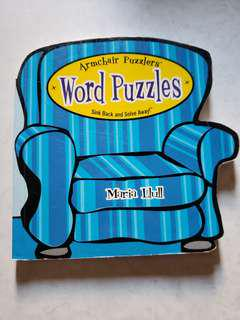 word puzzle activity book