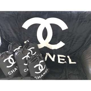 Chanel authentic vip gift blanket / selimut chanel