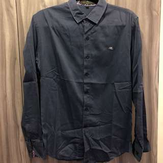Etro Milano dark blue long polo L