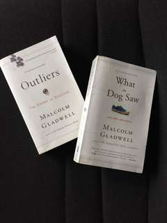 Outliers and What the Dog Saw (Malcolm Gladwell Books)