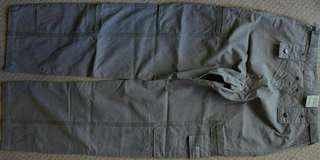 NWT Osaka Tiger P333 Army Green Cotton Fashion Jeans Brass Zipper