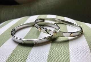 cartier inpsired bracelet bangle