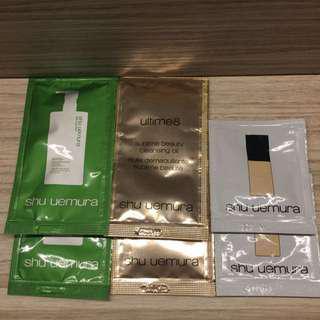 包郵Shu Uemura Samples