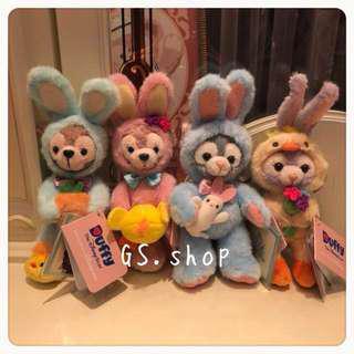 🇭🇰 香港迪士尼 ✨達菲 雪莉梅 畫家貓 復活節 鑰匙圈托尼貓 傑拉托尼 史黛拉 gs.shop