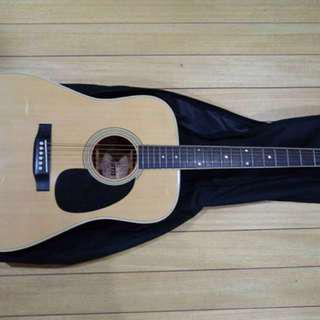 Morris Acoustic guitar W-20