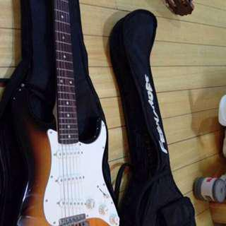 Squier by fender electric guitar