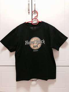 💯Authentic Hard Rock Makati Black T Shirt