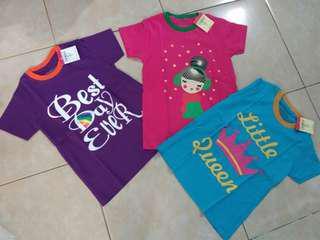 Sale 3pcs t shirt anak 8T Take all