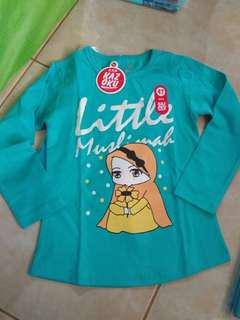 Little Muslimah Long Sleve size 4T