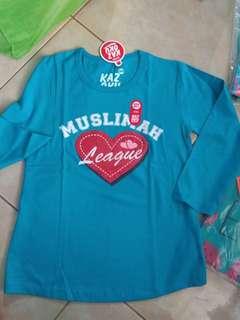 Muslimah League Long Sleve size 10T